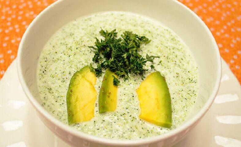 crema de brócoli saludable