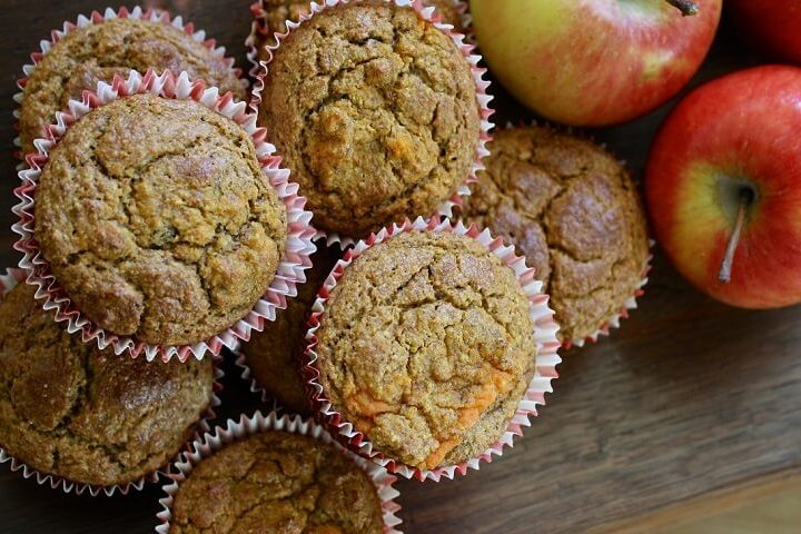 Muffins de Manzana Saludable