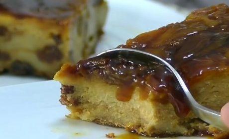 Pudin de Pan Casero sin azúcar ni lácteos!!